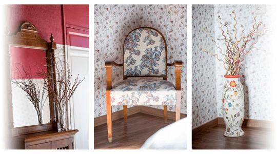 foto detelle interiores vintage habitacion de la encarnacion hotel  en los alcazares