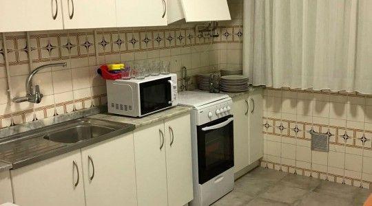 Cocina de un aparamento en alquiler en Balneario La Encarnación